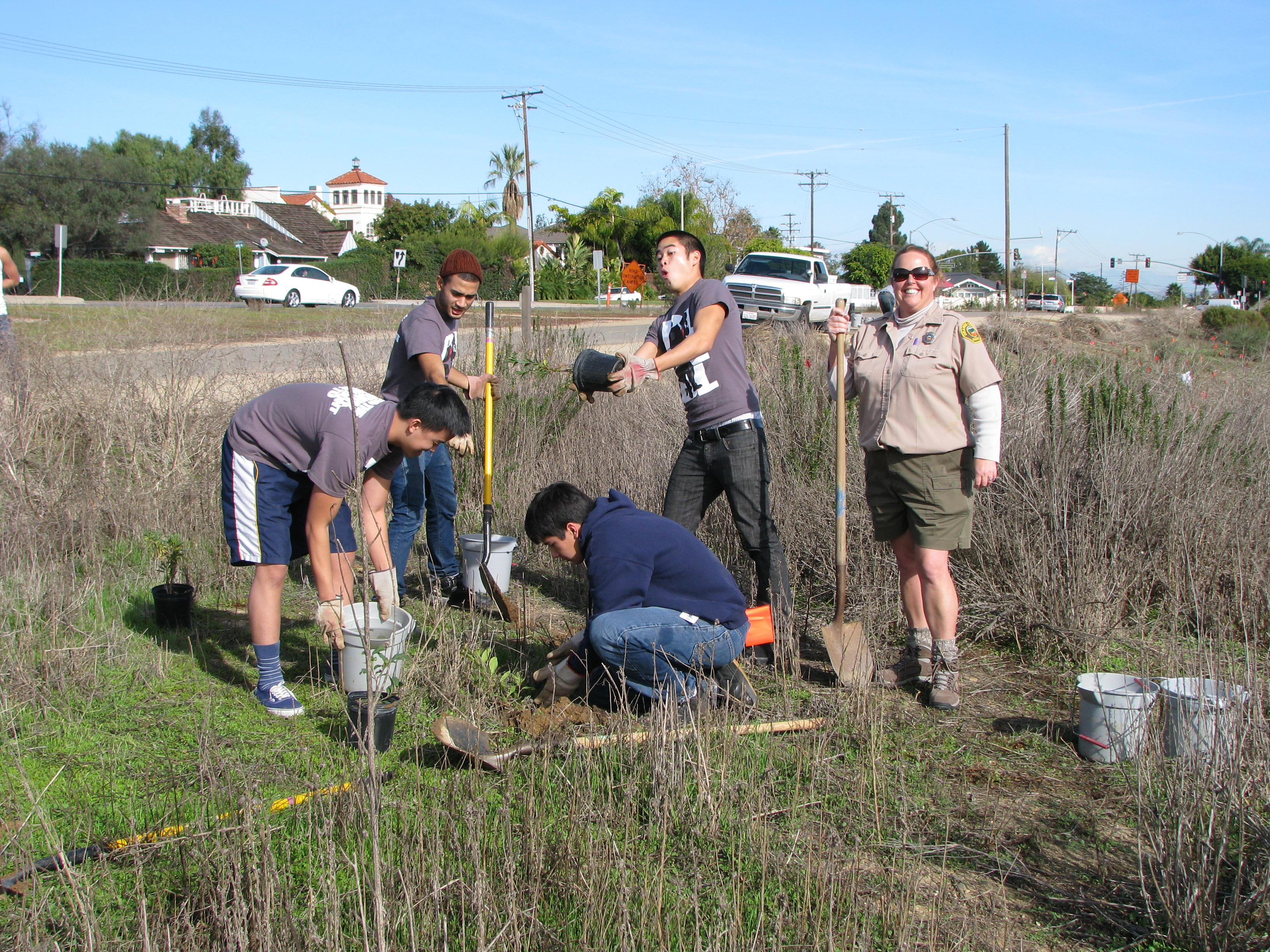 Volunteers Upper Newport Bay