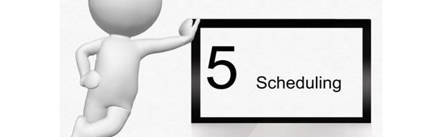 Scheduling a post in Facebook