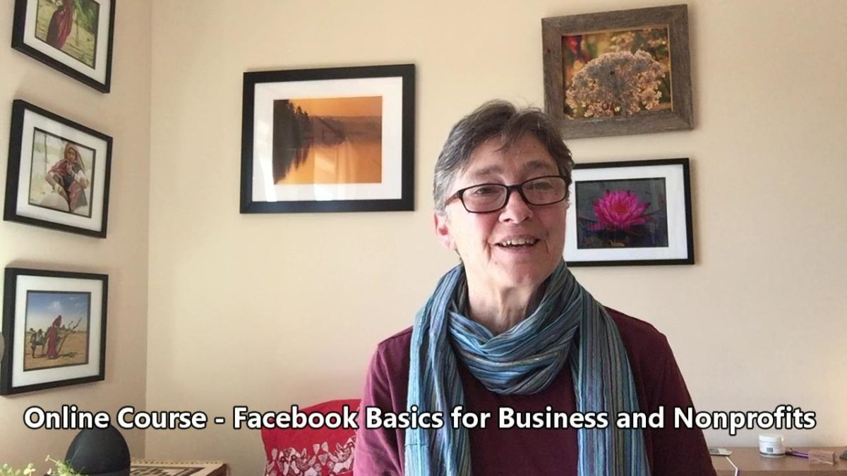 Online Course – Facebook Basics for Business and Nonprofits